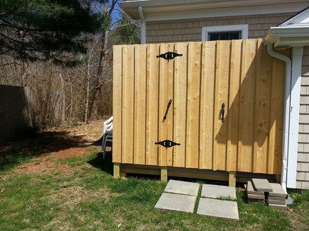 Brewster Cape Cod vacation rental - Cape Cod Outdoor Shower for after beach rise.