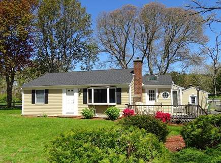 Harwich Cape Cod vacation rental - Large front yard on corner lot