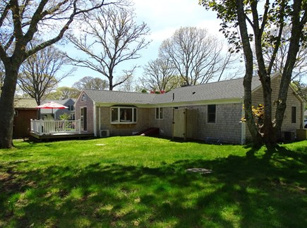 Harwich Cape Cod vacation rental - Large backyard with new outdoor shower