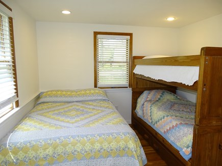 Harwich Cape Cod vacation rental - Bedroom with full bed and twin bunk beds