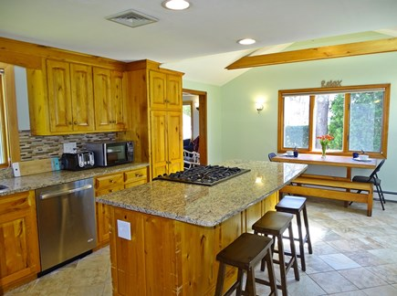 Harwich Cape Cod vacation rental - Kitchen area with breakfast bar