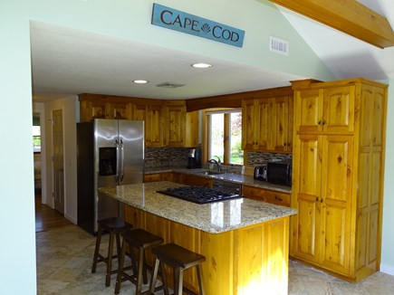 Harwich Cape Cod vacation rental - Modern remodeled kitchen with gas stove