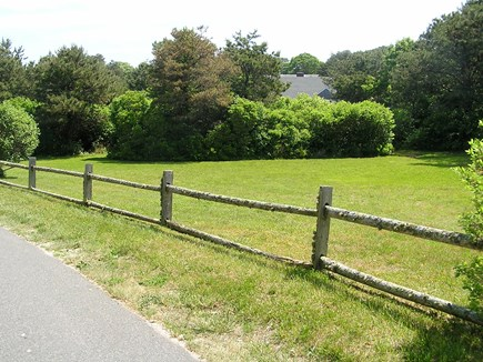 Chatham Cape Cod vacation rental - Our Sports Field: Horseshoes/Volleyball/Badminton/Wiffleball
