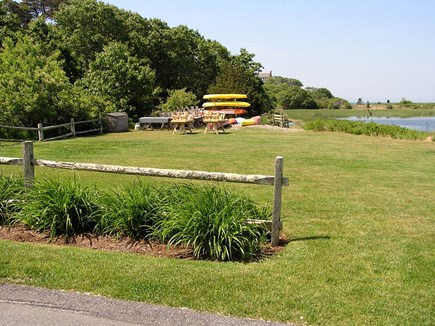 Chatham Cape Cod vacation rental - Kayak Storage & Picnic Area Available For Our Guests