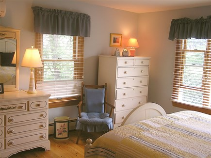 Chatham Cape Cod vacation rental - Ocean Facing Blue Bedroom