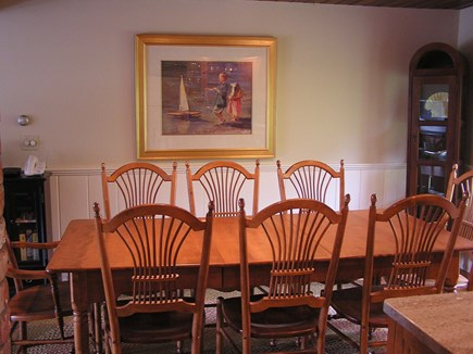 Chatham Cape Cod vacation rental - Dining Room Table