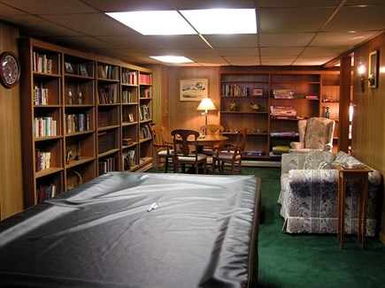 Chatham Cape Cod vacation rental - Library End Of Our Gameroom