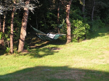 Chatham Cape Cod vacation rental - Relax In Our Hammock
