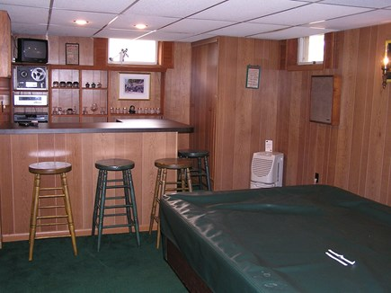 Chatham Cape Cod vacation rental - Bar End Of Our Gameroom