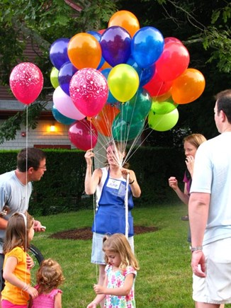 Chatham Cape Cod vacation rental - Balloons For The Kids:  Friday Night Band Concerts