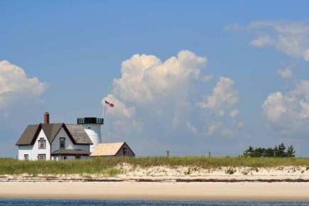 Chatham Cape Cod vacation rental - Walk The Sand Trail to Stage Harbor Lighthouse