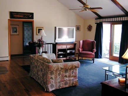 Chatham Cape Cod vacation rental - Living Room & Ocean View Deck