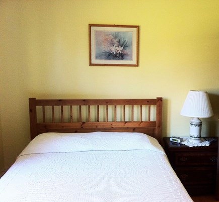 East Falmouth on fresh pond Cape Cod vacation rental - Garden bedroom