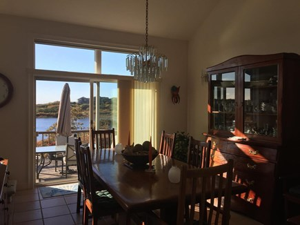 Truro Cape Cod vacation rental - Dining Opens Right Out to Deck
