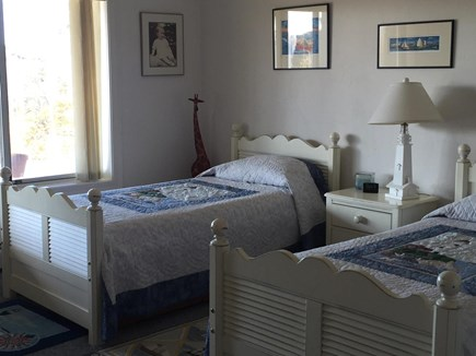 Truro Cape Cod vacation rental - Bedroom Suite with Two Twin Beds