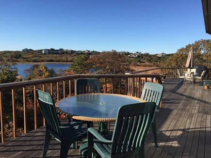 Truro Cape Cod vacation rental - Spacious deck space for excellent outdoor living.Gas grille makes