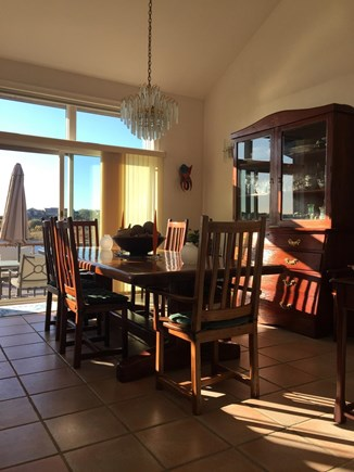 Truro Cape Cod vacation rental - Lovely Dining Area with More Views