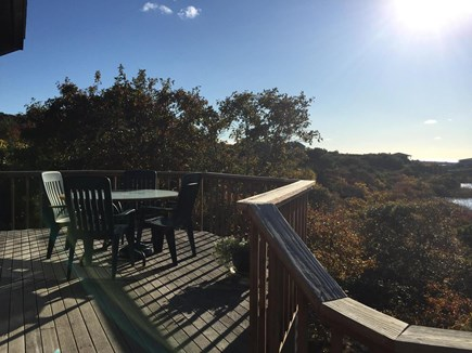 Truro Cape Cod vacation rental - Spacious Deck with Multiple Areas