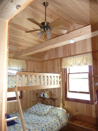 Eastham Cape Cod vacation rental - Bedroom with twin and full bunkbed