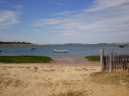 Wellfleet Cape Cod vacation rental - Boatlanding/bay beach. Great for swim or kayak at high tide