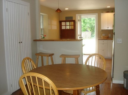 Wellfleet Cape Cod vacation rental - Bright and cheery dining area