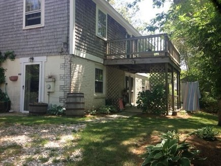 Wellfleet Cape Cod vacation rental - Your entrance. Private rental is first floor apt of 2-family home