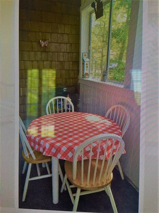 South Dennis Cape Cod vacation rental - Screened porch