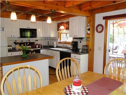 Dennis Cape Cod vacation rental - Kitchen with center island