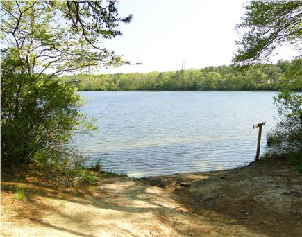 Dennis Cape Cod vacation rental - Flax pond beach area ~ across the street
