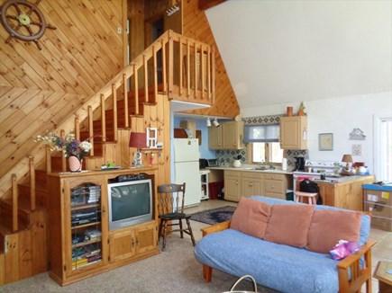Wellfleet Cape Cod vacation rental - Headed Upstairs