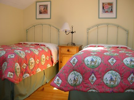 New Seabury, Maushop Village New Seabury vacation rental - First Floor bedroom with 2 twin beds