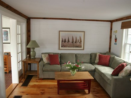 New Seabury, Maushop Village New Seabury vacation rental - Living Room with Queen Sofabed