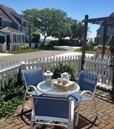 New Seabury, Maushop Village New Seabury vacation rental - View to Nantucket Sound from the Patio