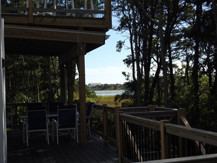 South Yarmouth Cape Cod vacation rental - View from back deck !