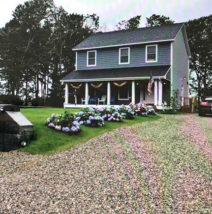 South Yarmouth Cape Cod vacation rental - Front of the home