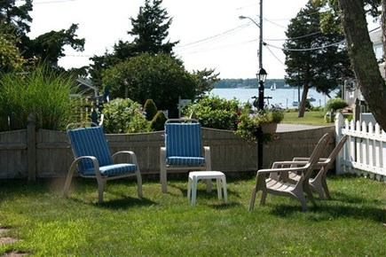 Mashpee Cape Cod vacation rental - Front yard