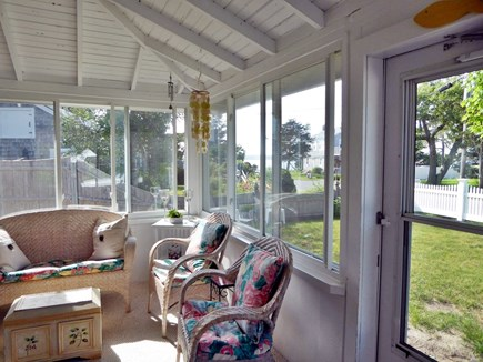 Mashpee Cape Cod vacation rental - Spectacular views of sunset over the water from the porch