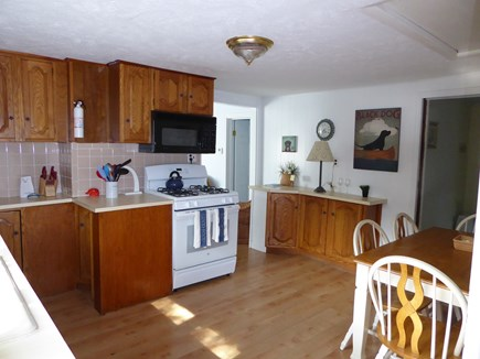 Mashpee Cape Cod vacation rental - Large eat-in kitchen