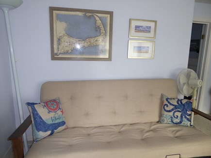Mashpee Cape Cod vacation rental - Living room futon