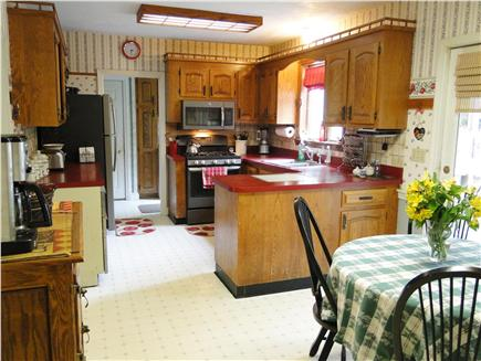 East Dennis Cape Cod vacation rental - Spacious kitchen with dining area