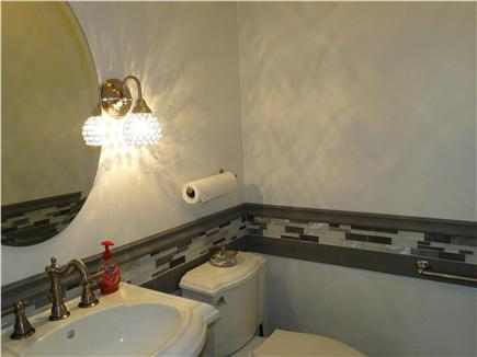 East Dennis Cape Cod vacation rental - Completely refinished main floor powder room