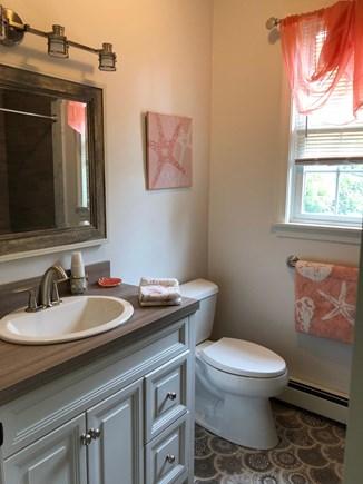 East Dennis Cape Cod vacation rental - Guest area bathroom 1
