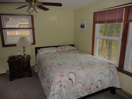 Wellfleet Cape Cod vacation rental - Queen bedroom has tv and ceiling fan