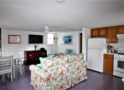 Falmouth Cape Cod vacation rental - Living Room - Kitchen