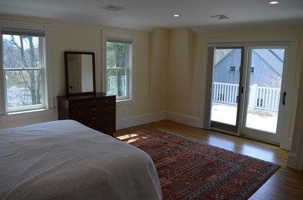Cotuit Cotuit vacation rental - Master bedroom and porch