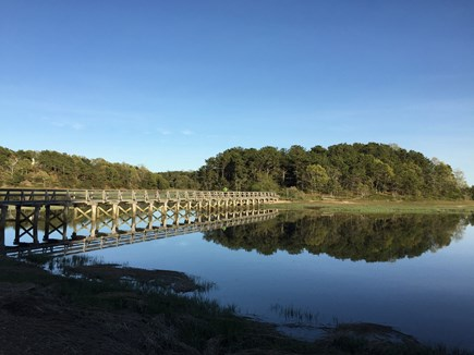 Wellfleet Cape Cod vacation rental - Uncle Tim's bridge - short walk with great trail.