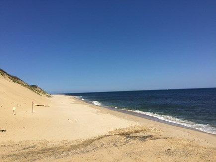 Wellfleet Cape Cod vacation rental - Nearby Newcomb Hollow Beach - beach sticker needed in season.