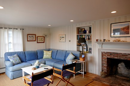 Wellfleet Cape Cod vacation rental - Living room with water views