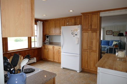 Wellfleet Cape Cod vacation rental - Spacious Kitchen - granite countersWater views