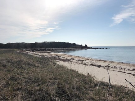 West Falmouth Cape Cod vacation rental - You have access to the private Little Island Beach